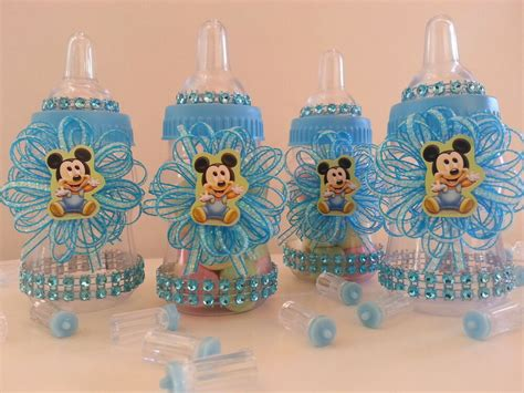 baby shower supplies 12 baby mickey mouse fillable bottles baby shower favors