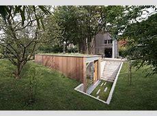 A Sunken Garden Workshop in Belgium by l'escaut