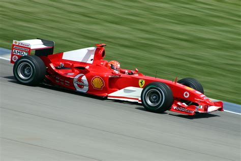 The f2004 is the fiftieth car built by ferrari to compete in the formula 1 world championship. Ferrari F2004 - Wikipedia