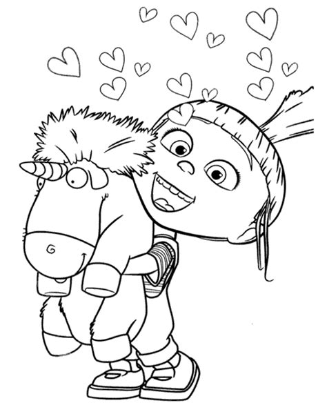 agnes  unicorn  coloring page topcoloringpagesnet