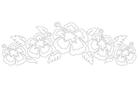 Hawaiian Hibiscus Drawings