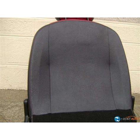 siege 206 cc siege cuir noir et peugeot 206 cc