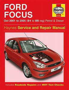Haynes Manual 4167 Ford Focus 1 4 1 6 1 8 2 0 Zetec Petrol