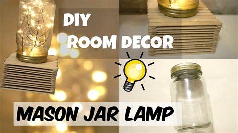 cheap easy diy dollar tree mason jar lamp room