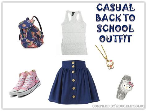 A Casual Back To School Outfit!!
