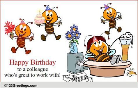 birthday    colleague  boss colleagues ecards
