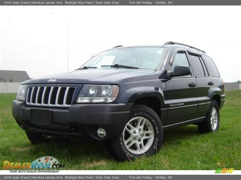 dark gray jeep grand cherokee 2004 jeep grand cherokee laredo 4x4 midnight blue pearl