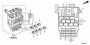 Honda Ridgeline Relay Assembly  Turn Signal And Hazard  Omron