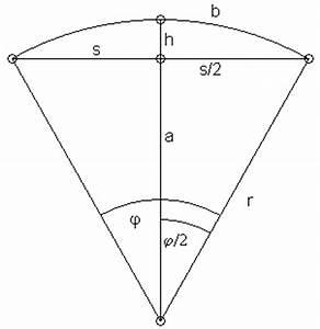 Kreissegment Radius Berechnen : mp forum kreissegment matroids matheplanet ~ Themetempest.com Abrechnung
