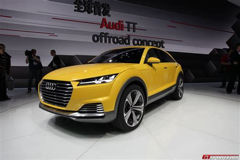 Auto China 2014 Audi Tt Allroad Concept Gtspirit