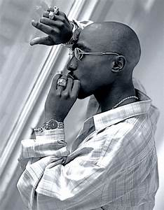 Tupac. Beautiful and poetic....when he let himself ...