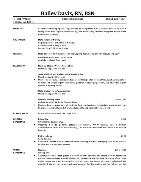 limited experience resume resume ideas