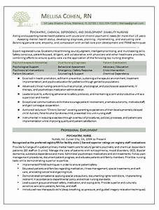 Example Resume Psychiatric Nurse Resume Example