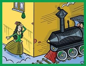 Gardinenstange Um Die Ecke : um die ecke by sergey repiov media culture cartoon ~ Michelbontemps.com Haus und Dekorationen