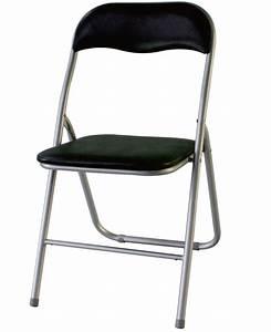 Chaise Pliante Noire : chaise pliante declick noir ~ Teatrodelosmanantiales.com Idées de Décoration