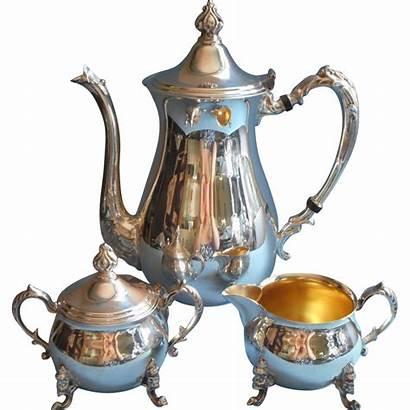 Silver Tea Copper Pot Teapot Sheridan Creamer