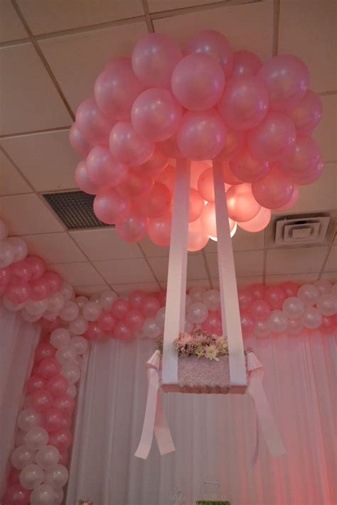 pink and white balloon decorations pink ans white balloon decoration balloon ideas