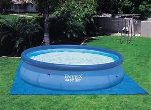 tapis de sol pour piscine hors sol intex jardideco With tapis de sol sous piscine hors sol