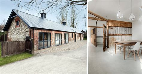 horse stables   transformed   minimalist home contemporist