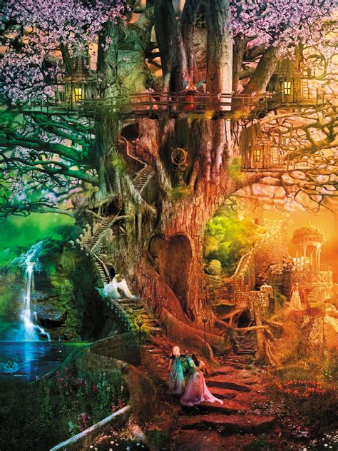 reflections  dreaming tree jigsaw puzzle