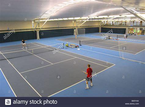 indoor tennis courts stock  indoor tennis courts stock images alamy