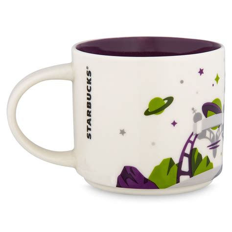 It's smaller then your regular coffee mug so maybe perfect for tea or smaller portioned drinkers. Disney Parks Starbucks You Are Here Magic Kingdom Coffee Mug Tomorrowl - I Love Characters