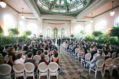 casa loma conservatory wedding ceremony