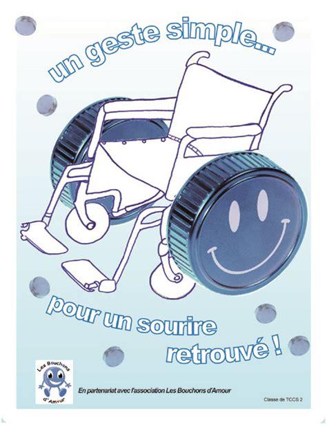 Collecte Bouchons Plastiques Fauteuil Roulant by Les Bouchons D Amour Lyc 233 E L 233 Onard De Vinci