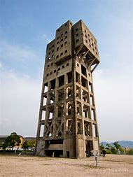 The Winding Tower of Shime Coal Mine