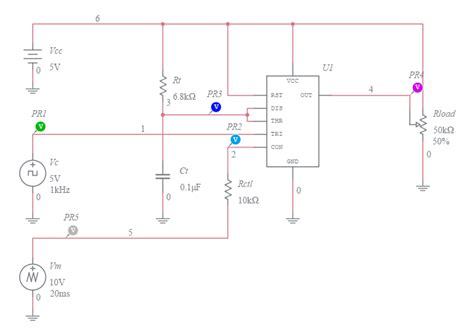 Pulse Width Modulator Voltage Controlled Duty Cycle