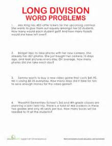 division word problems 3rd grade division word problems worksheet education