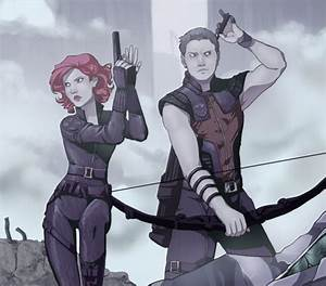 The Avengers images Black Widow & Hawkeye wallpaper and ...