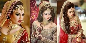 Modern Looks Of Bridal Makeup And Dresses For Girls 2017-18