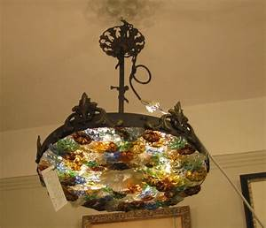 Antique ceiling lights for sale an brass and