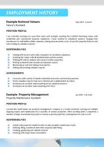 find resumes for hire property sales resume