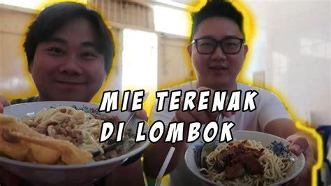 Makan Mie Ayam Terenak Lombok Bareng Oppa Korea Youtube