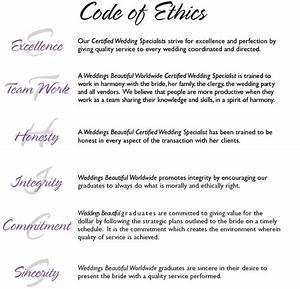 weddings beautiful worldwide weddingsbeautifulcom With company code of ethics template
