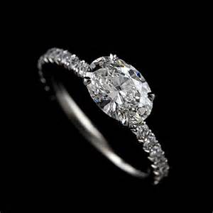 oval engagement ring thin band platinum thin shank oval engagement ring mounting orospot