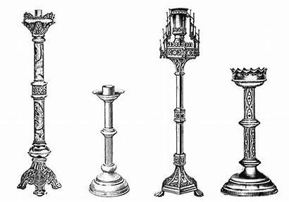 Church Candle Holders Candlesticks Catholic Antique Votive