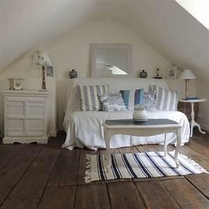 Déco Bord De Mer Chambre : d co chambre coucher bord de mer ~ Teatrodelosmanantiales.com Idées de Décoration