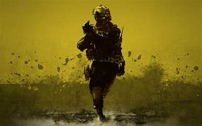 Combat Soldier Wallpapers Desert Soldiers Medic Army