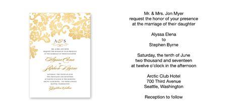 how to word a wedding invitation wedding invitation wording sle verses by wedding paper divas
