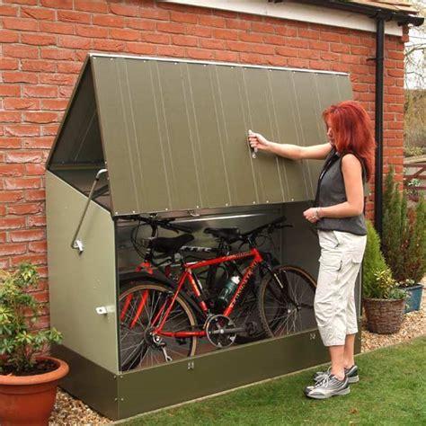 Abri à Vélos En Métal Vert 1,74m²