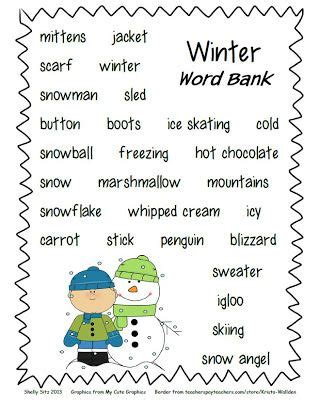 smiling  shining   grade winter writing paper