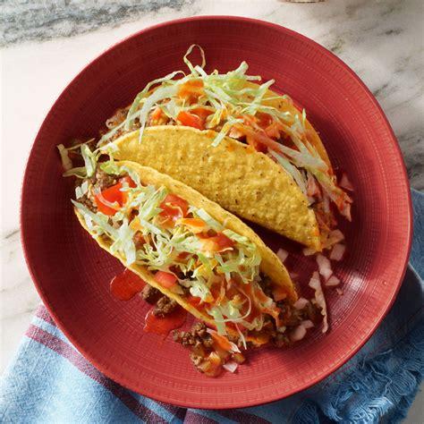 hangover food rachael rays hard shell red eye tacos