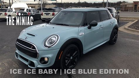 Mini Cooper Blue Edition Modification by 2019 Mini Cooper S 4 Door Blue Edition