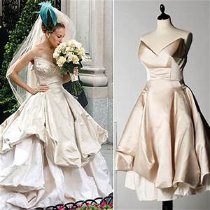Carrie Bradshaw Wedding Gown by Vivienne Westwood Sold Out ...