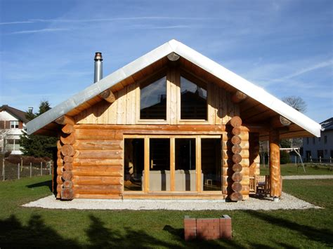 photo de chalet en bois rond images