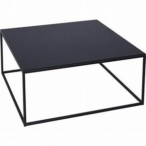 buy black glass and metal square coffee table from fusion With all metal coffee table
