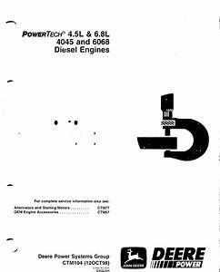 John Deere Powertech 4 5l 6 8l 4045 6068 Ctm104 Pdf